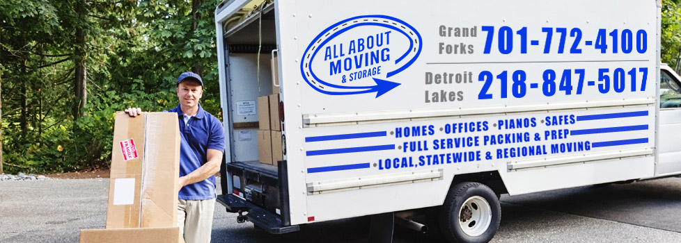 Moving Company in Grand Forks ND & Detroit Lakes MN   All